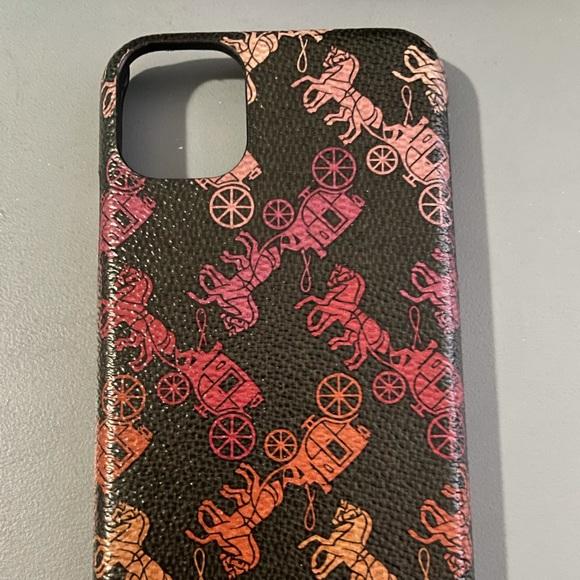 iPhone 11 Coach phone case